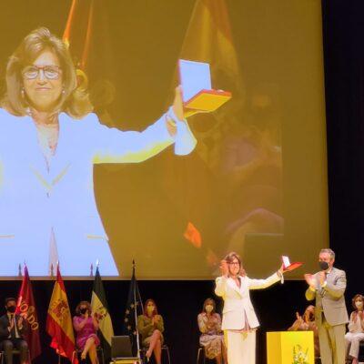 Mujeres galardonadas por la ciudad de Sevilla